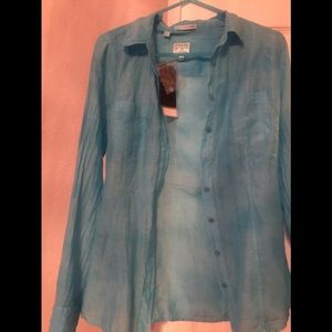 Guess XS New with tags long sleeve blouse